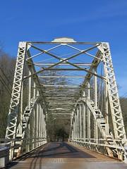 Sparks MD ~ bridge over the Gunpowder River (karma (Karen)) Tags: vanishingpoint bridges maryland roads sparks railtrails baltimoreco ncrt