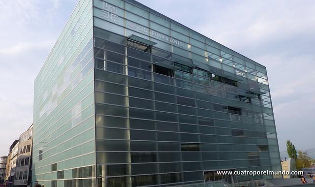 Edificio donde se celebra el Ars Electronica Festival
