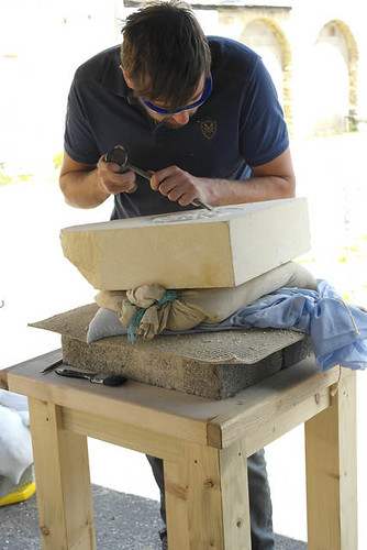 Carve a Yorkshire Rose in Stone with Gaynor Pearson