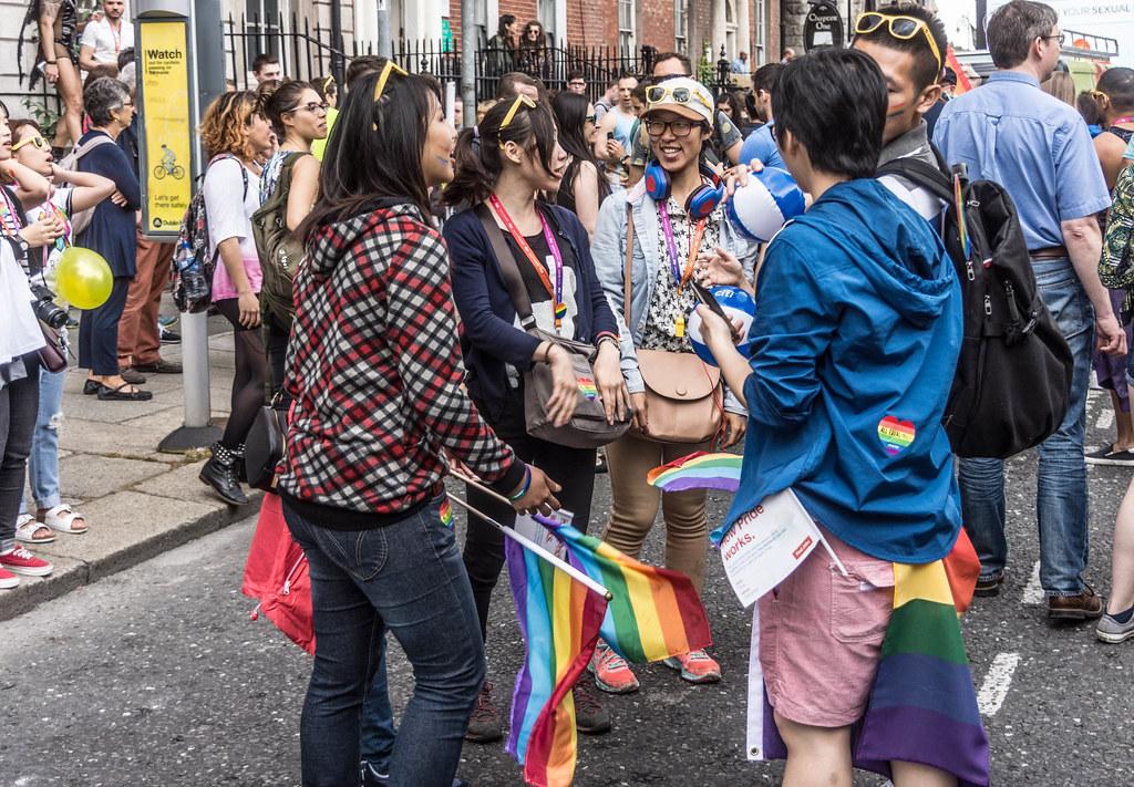 DUBLIN 2015 LGBTQ PRIDE PARADE [WERE YOU THERE] REF-105981