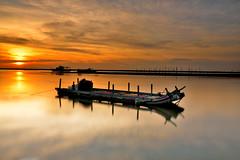Sunset boat (kai6722) Tags: boat taiwan    kai6722