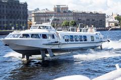 Hydroptère à Saint Petersbourg