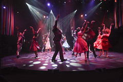 The company in West Side Story, produced by Music Circus at the Wells Fargo Pavilion August 4-9, 2015. Photo by Charr Crail.