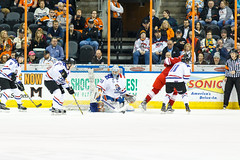 "Missouri Mavericks vs. Allen Americans, March 3, 2017, Silverstein Eye Centers Arena, Independence, Missouri.  Photo: John Howe / Howe Creative Photography • <a style=""font-size:0.8em;"" href=""http://www.flickr.com/photos/134016632@N02/32430581194/"" target=""_blank"">View on Flickr</a>"