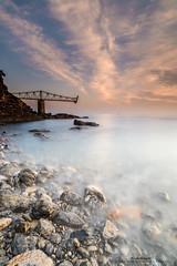 El viejo cargadero (Pruden Barquin) Tags: paisaje landscape largaexposicion longexposure marcantabrico seascape seacatabrian sedas silks clouds rocas rocks nikon prudenbarquin fotografia
