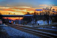 02/24/2017 - 365 Main Street Project – 326 of 365 (Sixstring563) Tags: 365 main street project smoke along tracks laurel brock bridge road