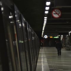 no smoking (Mister.Marken) Tags: madeinsweden helios442 ге́лиос nikon nikond5200 sweden subway metro
