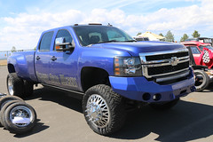 2013 Chevrolet Silverado HD Dually Pickup (coconv) Tags: car cars vintage auto automobile vehicles vehicle autos photo photos photograph photographs automobiles antique picture pictures image images collectible old collectors classic blart 2013 chevrolet silverado hd dually pickup blue 13 chevy 4x4 lifted customized