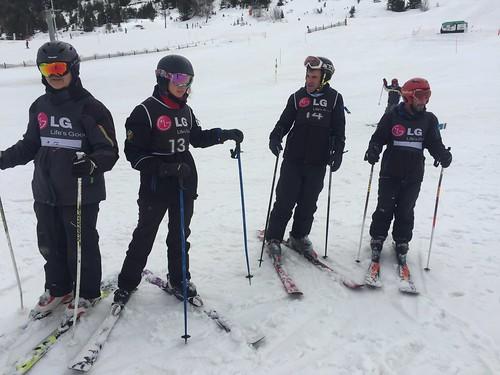 Campionat de Catalunya d'esquí Porté Puymorens 2017