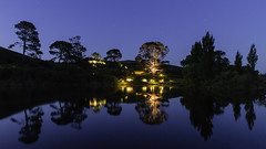 _MG_4239_Hobbiton Reflections (lee.45) Tags: middleearth fantasy rural landscape night thelordoftherings jrrtolkien hobbitonmoviesettours thehobbit canoneos6d canon