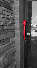 Let's Spoon (Cindy's Here) Tags: spoon red dairyqueen doorhandle thunderbay ontario canada sc0317 iphone 100xthe2017edition 100x2017 image13100