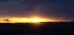 Sunset 22nd May 2013 (mark_fr) Tags: york bridge sunset sea sky sun set sunrise volcano maple view market yorkshire hill north estuary vale east dust rise volcanic mere beverley humber hornsea weighton beeford lissett molescroft