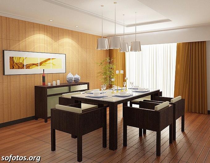 Salas de jantar decoradas (30)