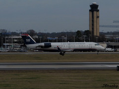 US Airways Express (Air Wisconsin) ~ Canadair CL-600-2B19 ~ N465AW (jb tuohy) Tags: plane airplane airport charlotte aircraft aviation jet aeroplane airline canadair g11 clt cl600 airwisconsin usairwaysexpress 2013 kclt n465aw jbtuohy