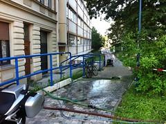07.06.2013: Blick zum TBZ (gegen 20:00 Uhr).