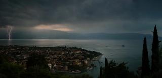 Days of thunder above Lake Garda