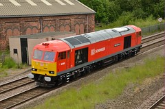 60062 1 (47843 Vulcan) Tags: light loco brush tug class60 claycross 60062 dbschenker stainlespioneer 0z60totontotinsley