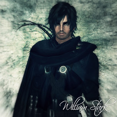 William Stark (CrossroadsGdR) Tags: portrait 3d avatar william secondlife rpg gdr pyke