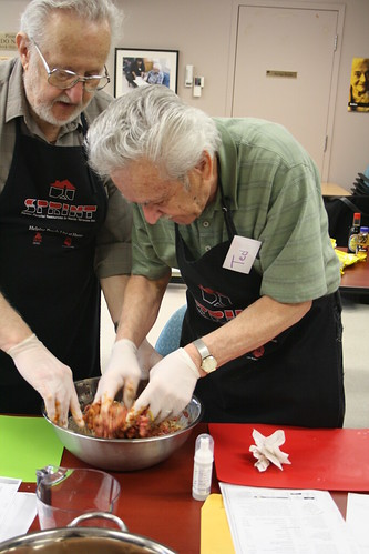 Men's Cooking Club - April 2013 - SPRINT and Alzheimer Society 073