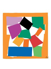 After The Snail, 1953 by Henri Matisse. (Mal Booth) Tags: colour art drawing matisse ipad thesnail adobeideas