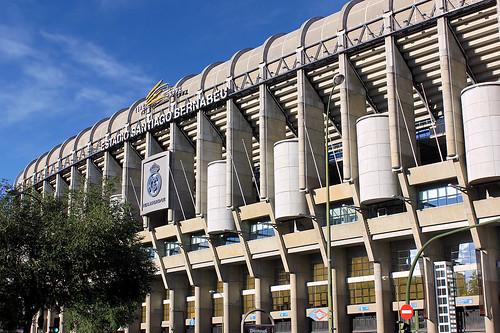 madrid santiago de real la football stadium soccer paseo estadio castellana uefa cf fútbol bernabéu chamartín