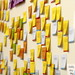 """Sticky notes on the wall of the Wikimedia Foundation office • <a style=""""font-size:0.8em;"""" href=""""http://www.flickr.com/photos/96798672@N06/9269302595/"""" target=""""_blank"""">View on Flickr</a>"""