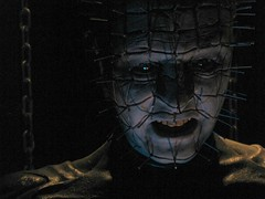 Pinhead (edenpictures) Tags: california film losangeles hollywood movies waxfigure hellraiser hollywoodboulevard cenobite waxsculpture hollywoodwaxmuseum