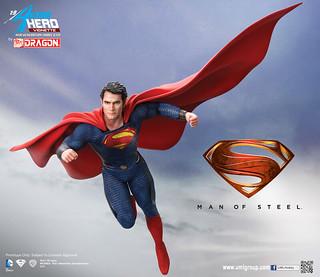 威龍工作室香港動漫節新作「超人」發表