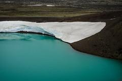 Krafla, Iceland (joshmonk) Tags: trip summer people ice water 50mm volcano iceland nikon europe day turquoise july crater nikkor krafla viti mvatn 2013 50mmf18g d7000 f18g