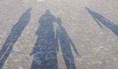 Schattenspiele am Strand; St. Peter-Ording IR9_1609 (Chironius) Tags: schleswigholstein deutschland germany allemagne alemania germania германия niemcy nordsee merdunord mardelnorte northsea schatten see meer nordfriesland eiderstedt abends peterording stpeterording