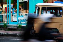 Whizzing by (63n1) Tags: street travel bali canon indonesia 50mm f14 kuta carlzeiss 5dmk3 zeiss50mmf14zeplanart