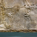 Lion Hunts of Ashurbanipal, attendants holding barrier