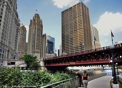 on the riverwalk (Rex Montalban Photography) Tags: chicago texture hdr riverwalk photomatix vertorama rexmontalbanphotography pse9