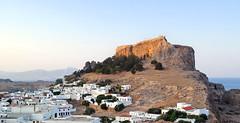 Lindos by Day (davidbailey50) Tags: greece acropolis rhodes lindos davidbailey