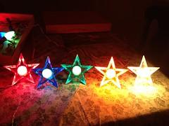 GloStars GE D14 (JeffCarter629) Tags: glow ge c9 d14 vintagechristmas glowstar vintagechristmaslights gechristmaslights generalelectricchristmaslights glostar