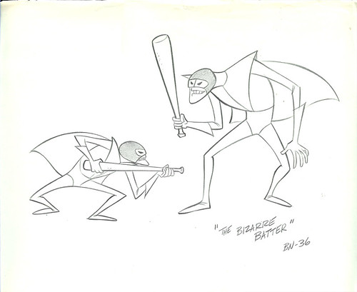 Hanna Barbera The IMPOSSIBLES Original Animation Production Drawing
