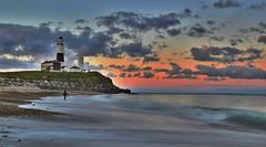 "Last Light at Montauk Point (Six Sigma Man (2.700.000 views)) Tags: montauk montaukpoint sunset clouds lighthouse timeexposure mygearandme ringexcellence 500v20f blinkagain mygearandmepremium mygearandmebronze mygearandmesilver mygearandmegold mygearandmeplatinum mygearandmediamond coppercloudsilvernsun vpu10 longisland ocean flickrbronzetrophygroup saariysqualitypictures surf nikond3200 joemarcone theperfectphotographer flickrelite ""flickrtravelaward"" nwn greatshotss"