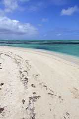 Mauritius - the Indian Ocean curves at Ile Aux Cerfs 2 (Romeodesign) Tags: ocean sea beach water coral island rocks turquoise maurice indianocean ile lagoon deer clear shore tropical transparent mauritius coralreef cerfs 550d