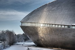 the universe landet (=Я|Rod=) Tags: winter outdoor bremen drama universum fujis5pro nikon1685vr snapseed ©reinerrodekohr