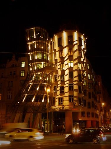 """""""Maison qui danse"""", Prague, République Tchèque"""