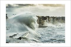 storm and wave (Emmanuel DEPARIS) Tags: sea mer beach big north du vague plage emmanuel nord tempete wimereux deparis