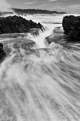 Flow (Jokoleo) Tags: motion water flow wave move calm serenity tranquil karang banten malingping