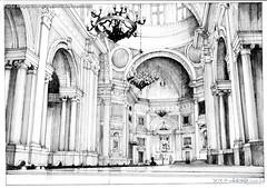 Porto Alegre interior Catedral Metropolitana