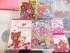 Kawaii Haul from Maruzen 1/4/14 - Tanashi, Tokyo, Japan (happyakuen) Tags: bears stickers memo kawaii stationary qlia rilakkuma sanx kamio
