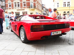 Ferrari Testarossa (1990) (Transaxle (alias Toprope)) Tags: auto red italy classic cars beauty car vintage italian nikon italia power antique rear super ferrari voiture historic exotic coche soul carros classics passion carro oldtimer bella autos veteran powerful rosso macchina 1990 coches veterans italians voitures toprope antigo testarossa pininfarina v12 antigos macchine midship rmr 12cylinders bornemann koenigslutter midshiprunabout rmrlayout centralengine mscfallerslebenkoenigslutterlowersaxony