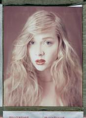 AnnaMaria (Braca Nadezdic) Tags: portrait girl studio polaroid voigtlander 8x10 expired sinar 809 polaroid809 polaroid8x10 euryscop