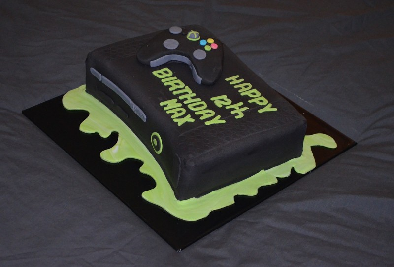 black xbox cakes - photo #37