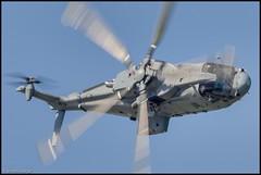 RN Merlin Mk2 (simon_x_george) Tags: military navy royal merlin raf waddington helecoptor 2013rafwaddingtonairshow