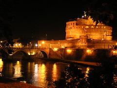 Roma, Castel Sant'Angelo dal Tevere