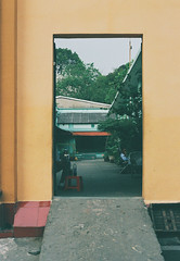 Open Doorway (common sayings) Tags: city travel urban film 35mm canon asia vietnam backpacking chi ho southeast minh saigon